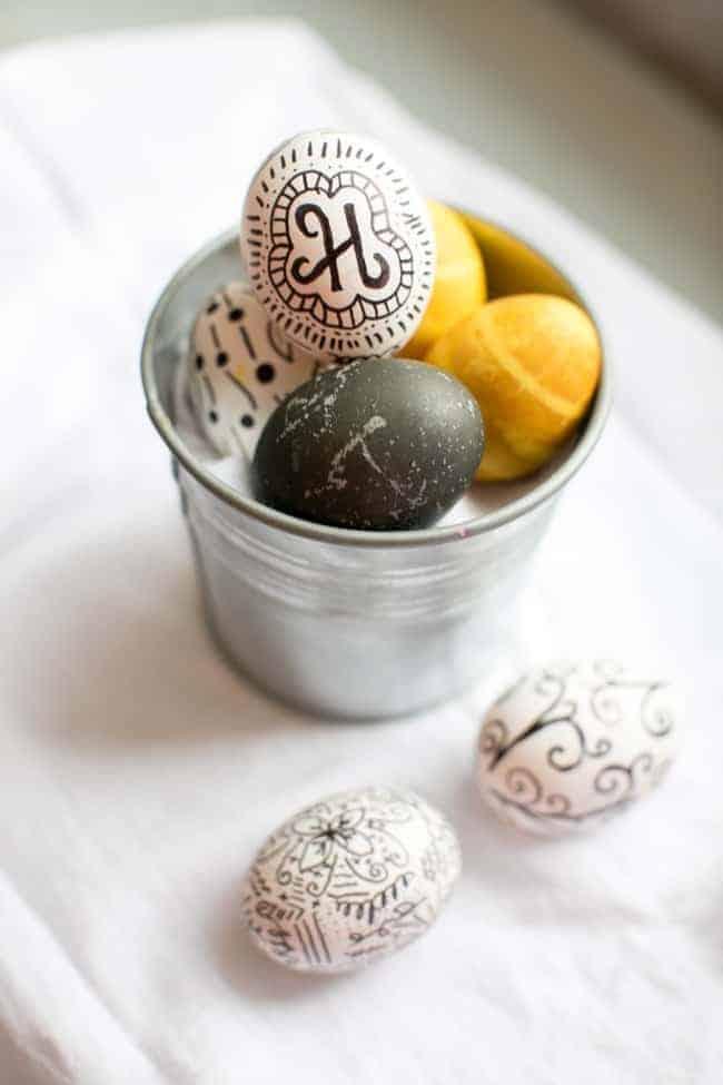 Ιδέες για βάψιμο πασχαλινών αυγών 9