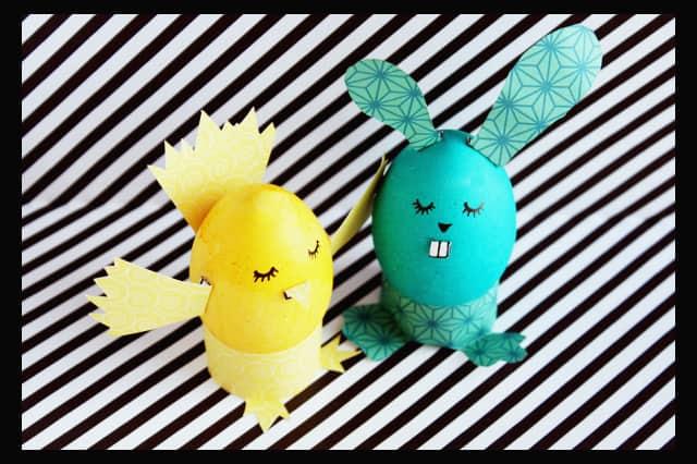 Ιδέες για βάψιμο πασχαλινών αυγών 10