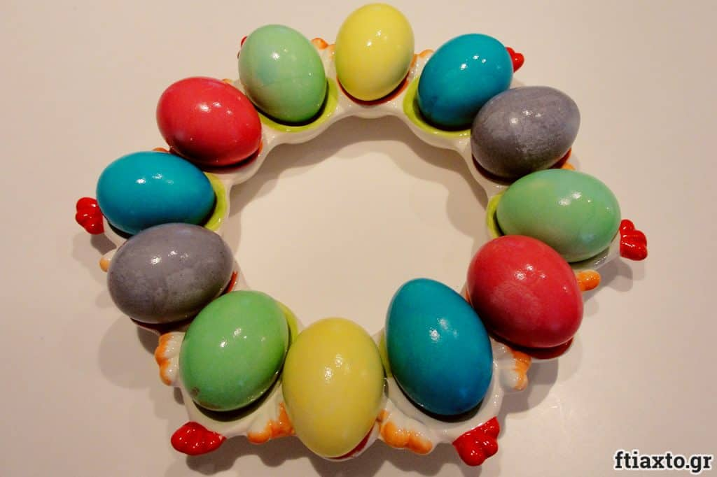 Ιδέες για βάψιμο πασχαλινών αυγών 4
