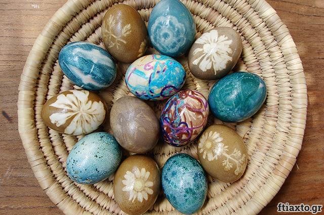 Ιδέες για βάψιμο πασχαλινών αυγών 2