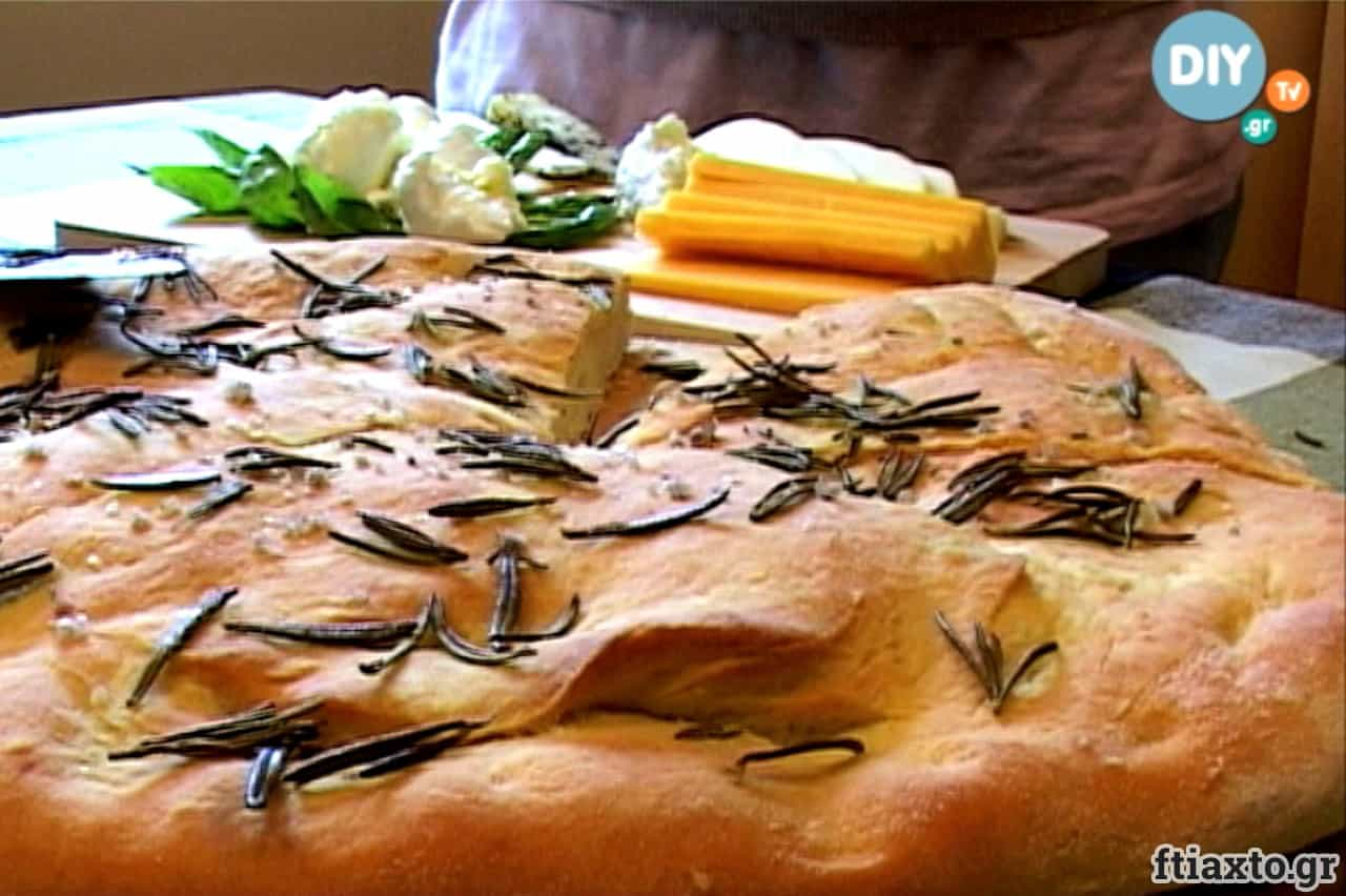 Ψωμί με δενδρολίβανο 2