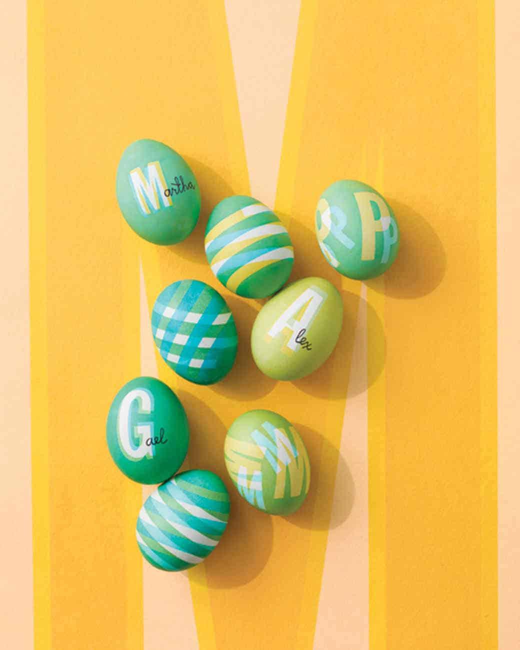 Ιδέες για βάψιμο πασχαλινών αυγών 16