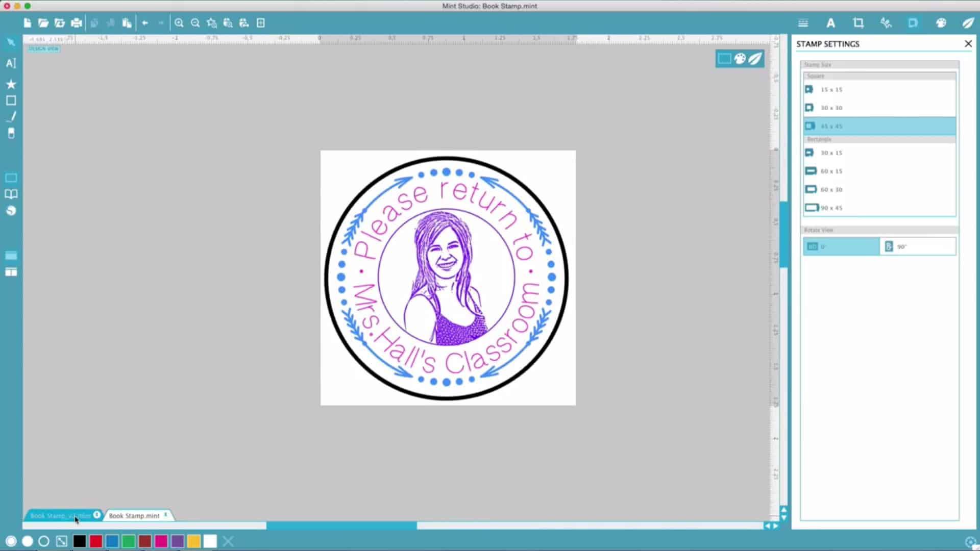 Παρουσίαση εργαλείου: Silhouette Mint Custom Stamp Maker 2