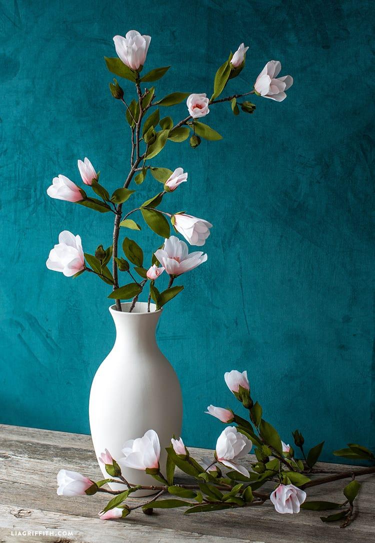 10 χειροποίητα λουλούδια από χαρτί 10