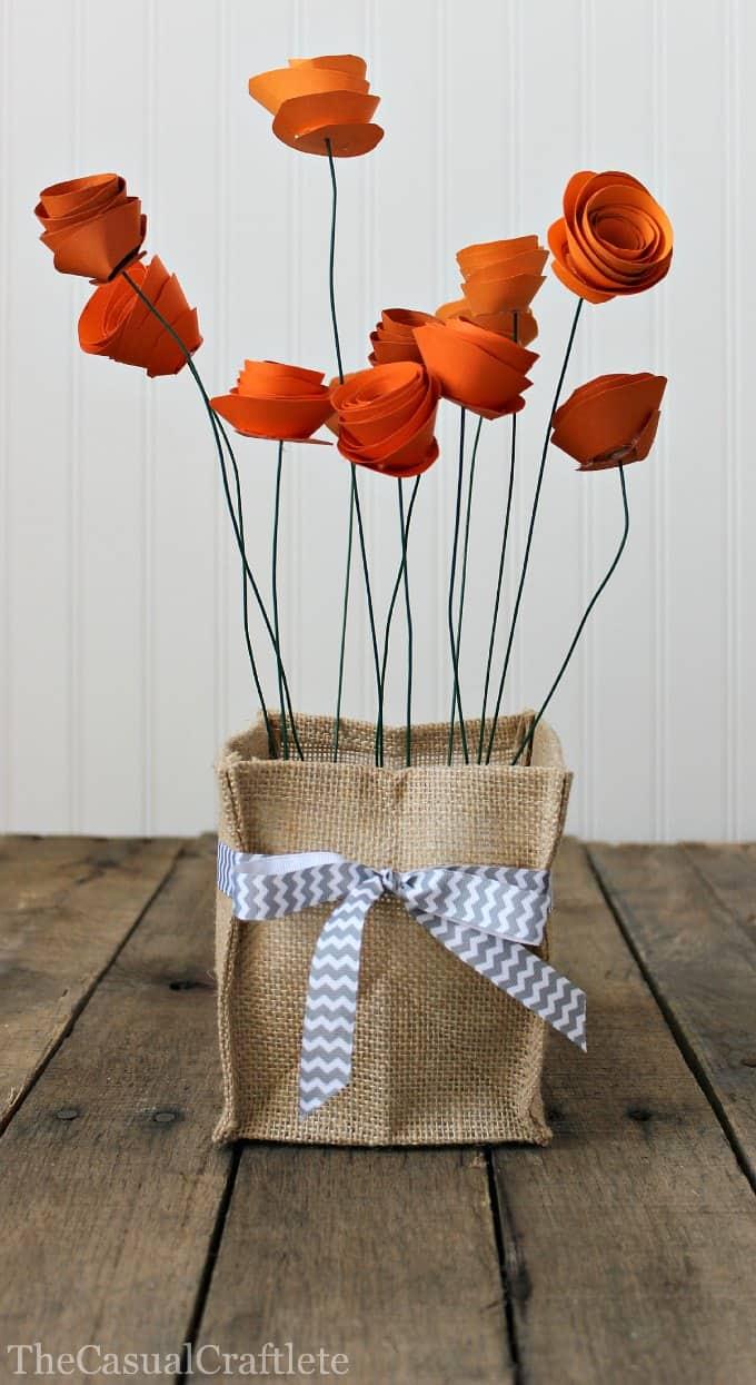 10 χειροποίητα λουλούδια από χαρτί 8