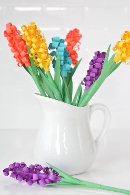 10 χειροποίητα λουλούδια από χαρτί 4