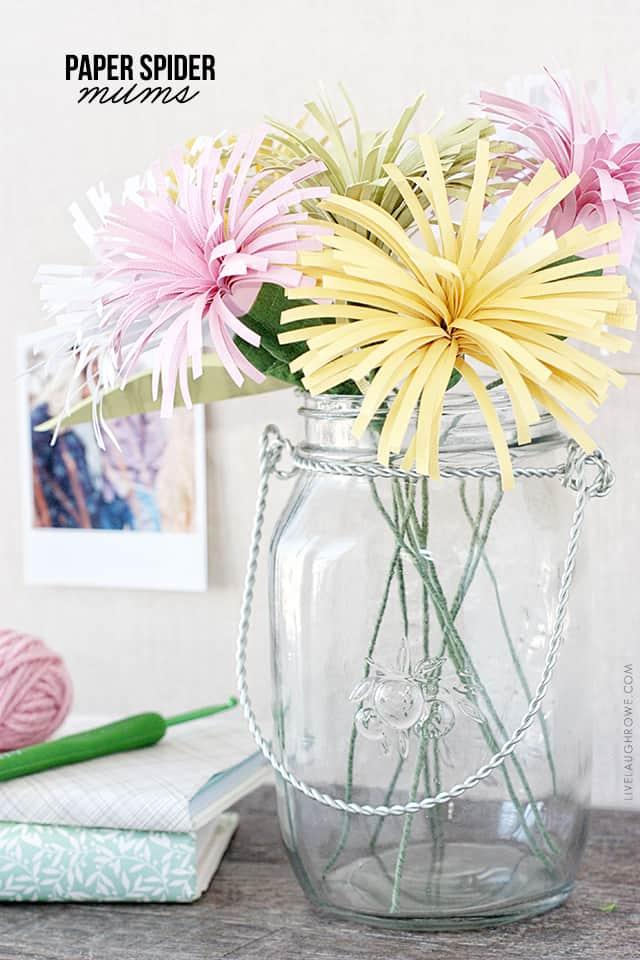 10 χειροποίητα λουλούδια από χαρτί 7
