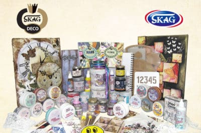 SKAG DECO-Η κορυφαία κατηγορία χειροτεχνίας της SKAG! 6