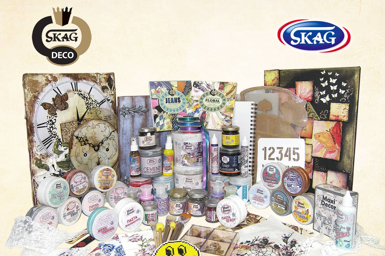 SKAG DECO-Η κορυφαία κατηγορία χειροτεχνίας της SKAG! 1