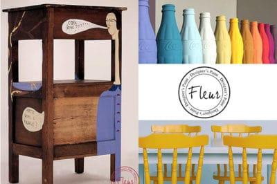 Γνωρίστε τα πρωτοποριακά χρώματα κιμωλίας Fleur 10