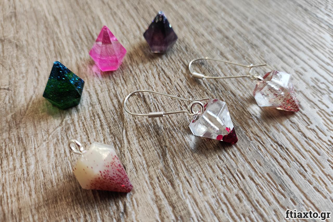 Κοσμήματα με υγρό γυαλί 8