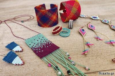 Online σεμινάριο: Μακραμέ κοσμήματα 16