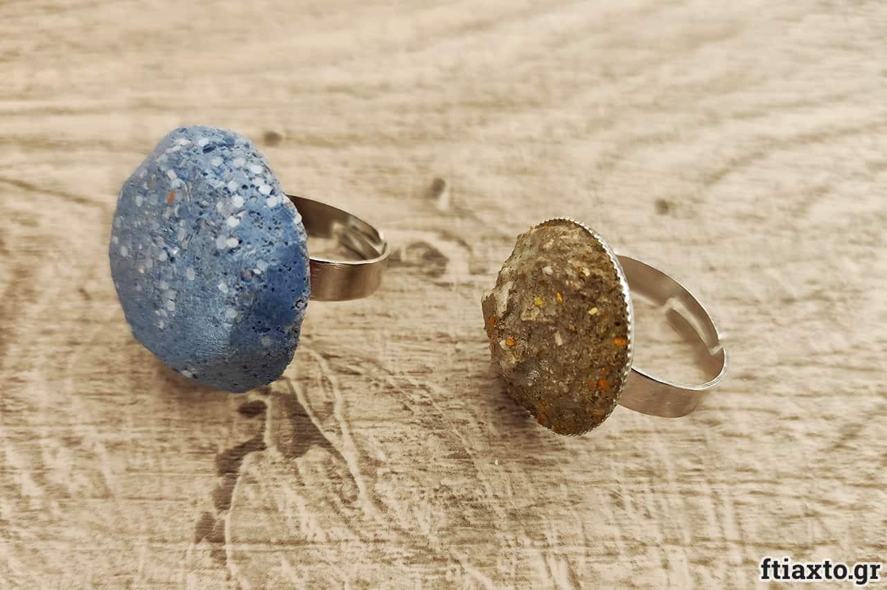 Κοσμήματα από τσιμέντο 5