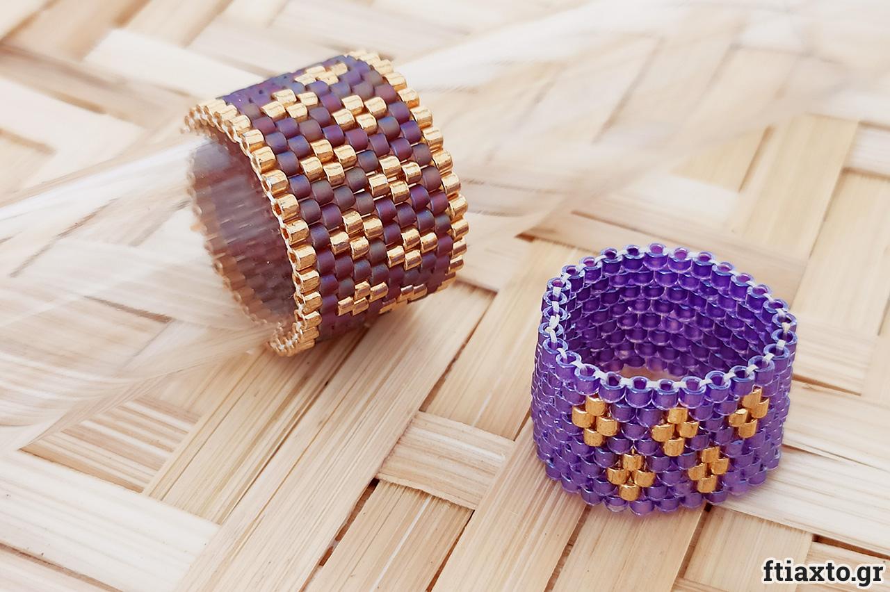 Κοσμήματα με χάντρες Miyuki 5