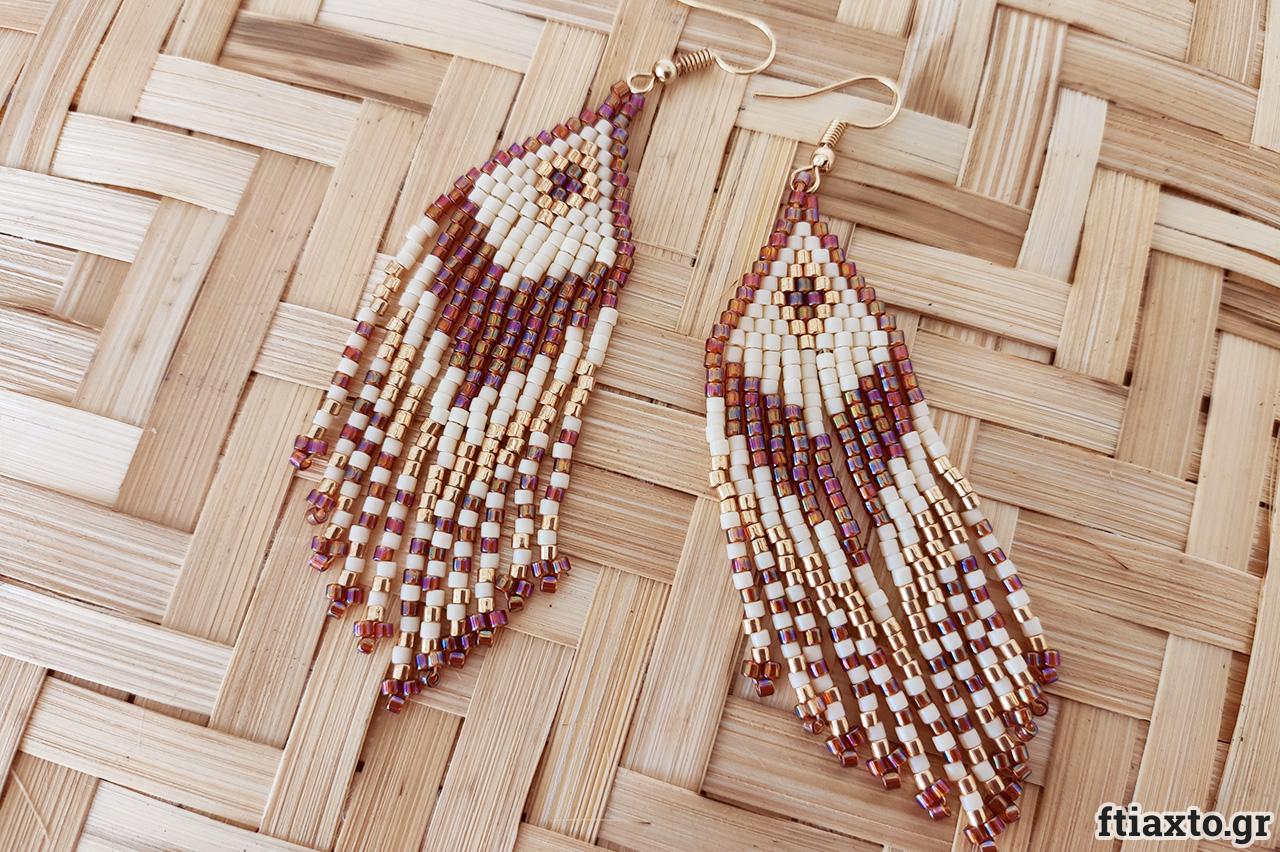 Κοσμήματα με χάντρες Miyuki 4