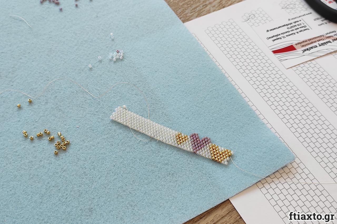 Online σεμινάριο κοσμήματος με peyote stitch