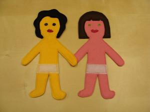 Κούκλες και ρουχαλάκια από felt 3