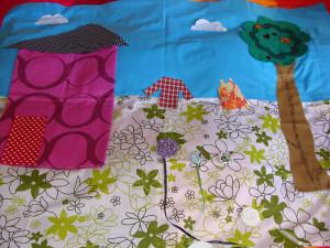 Το πρώτο μου quilt παπλωματάκι 3