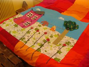 Το πρώτο μου quilt παπλωματάκι 4