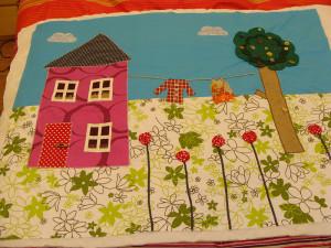 Το πρώτο μου quilt παπλωματάκι 5