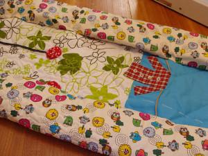 Το πρώτο μου quilt παπλωματάκι 7