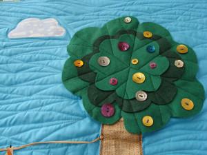 Το πρώτο μου quilt παπλωματάκι 11