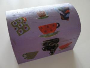 Ξύλινα κουτιά συνταγών με decoupage στο Star - Νηστικοί Πράκτορες 2
