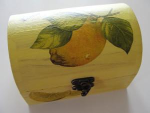 Ξύλινα κουτιά συνταγών με decoupage στο Star - Νηστικοί Πράκτορες 3